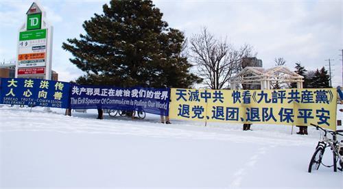'图11~12:2020年12月26日弟子们还在风雪中坚守着的太古真相点。'